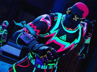 Neon Fortnite 2020 wallpaper