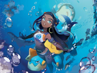 Nessa Pokémon Sword and Shield wallpaper