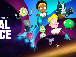 Netflix Final Space wallpaper
