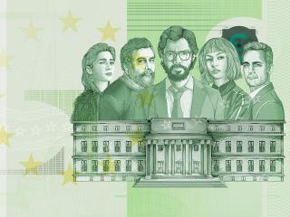 Netflix Money Heist HD 2021 wallpaper