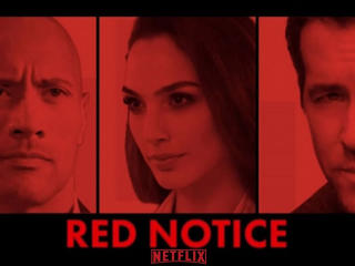 Netflix Red Notice Poster 2021 wallpaper
