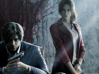 Netflix Resident Evil Infinite Darkness Show wallpaper