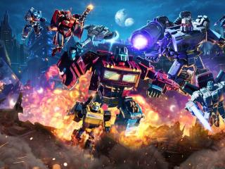 Netflix Transformers War for Cybertron wallpaper