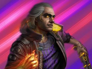 Netflix Witcher x Cyberpunk 2077 wallpaper