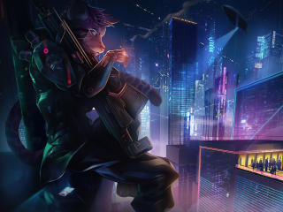 New 2020 Cyberpunk Artwork wallpaper