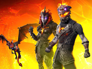 New 2020 Fortnite Lava wallpaper