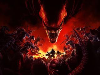 New Aliens Fireteam Elite Gaming HD wallpaper