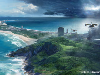 New Battlefield 2042 HD Nature wallpaper