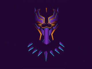 New Black Panther Minimalist wallpaper