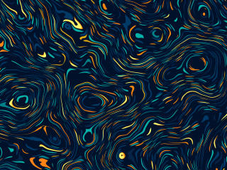 New Cool Swirl 4k Art wallpaper