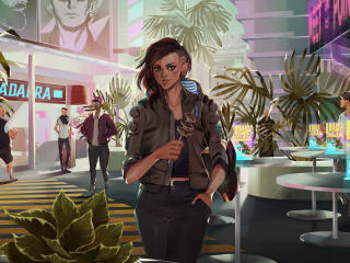 New Cyberpunk 2077 Illustration 2020 wallpaper
