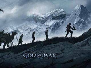 New God Of War Black Thunder wallpaper