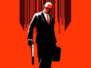 New Hitman Minimal Art wallpaper