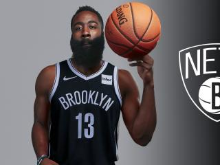 New James Harden Brooklyn Nets 2021 wallpaper