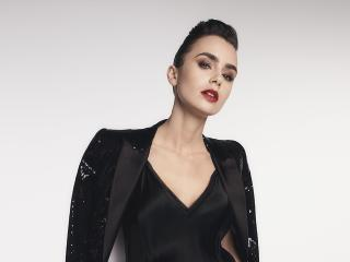 New Lily Collins 2021 Actress wallpaper