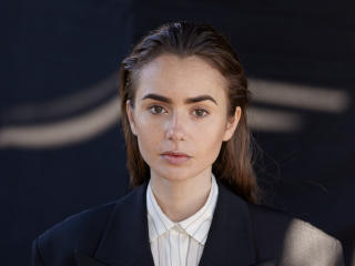 New Lily Collins Actress wallpaper
