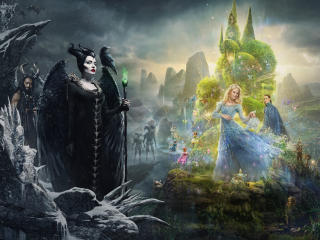 New Maleficent Mistress Of Evil 4K wallpaper