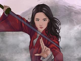 New Mulan Fan Art wallpaper