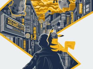 New Pokemon Detective Pikachu Movie Poster wallpaper
