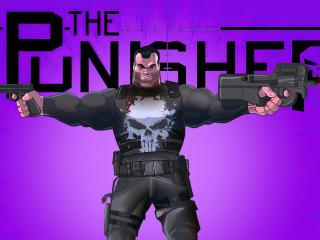 New Punisher Comic Art wallpaper