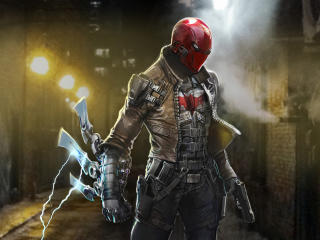 New Red Hood Art 4K wallpaper