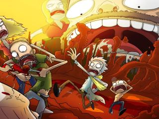 New Rick And Morty 2020 wallpaper