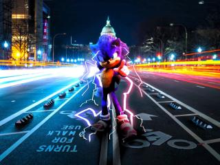 New Sonic The Hedgehog Art wallpaper