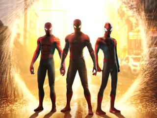 New Spider Verse Digital Art 2020 wallpaper