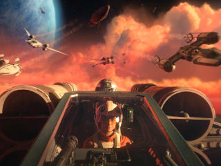 New Star Wars Squadrons 4K wallpaper