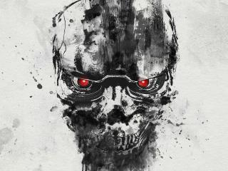 New Terminator Dark Fate Poster wallpaper