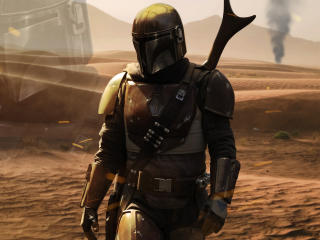 New The Mandalorian 4K wallpaper