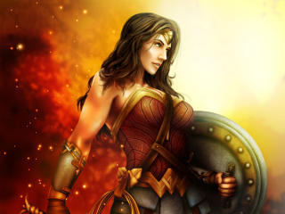 New Wonder Woman 2 Art wallpaper