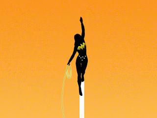 New Wonder Woman Minimalist wallpaper