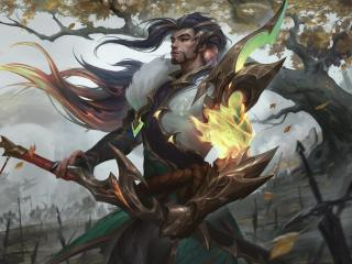 New Yasuo Cool League Of Legends wallpaper