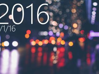 new year, 2016, inscription wallpaper