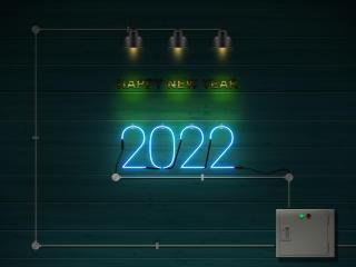 New Year 2022 4k wallpaper