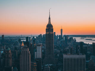 HD Wallpaper | Background Image New York City Empire State Building Skyscrapers