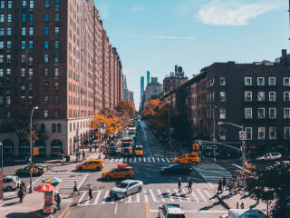 New York City Street Photography wallpaper