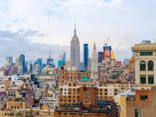 new york, usa, skyscrapers wallpaper