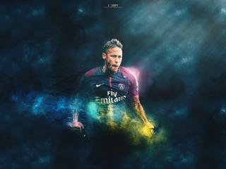 Neymar Paris 2021 wallpaper