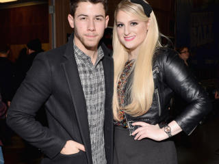 nick jonas, meghan trainor, celebrities wallpaper