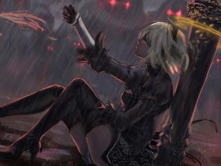 Nier Automata Fantasy Game Art wallpaper