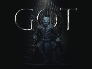 Night King Game of Thrones Season 8 Poster wallpaper