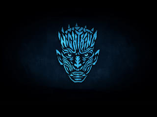 Night King Minimalist From Game Of Thrones wallpaper