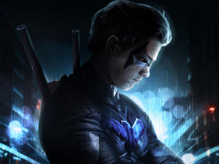Nightwing Art wallpaper