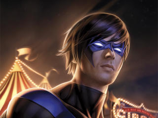 Nightwing Comic Art wallpaper