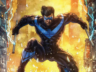 Nightwing DC Comic 2020 wallpaper