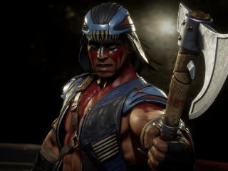 Nightwolf Mortal Kombat wallpaper