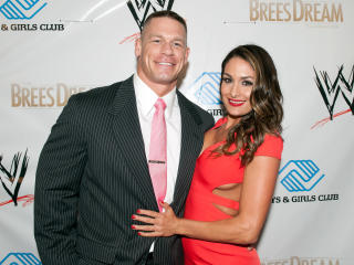 Nikki Bella and John Cena wallpaper