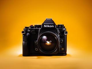 nikon, camera, lens wallpaper